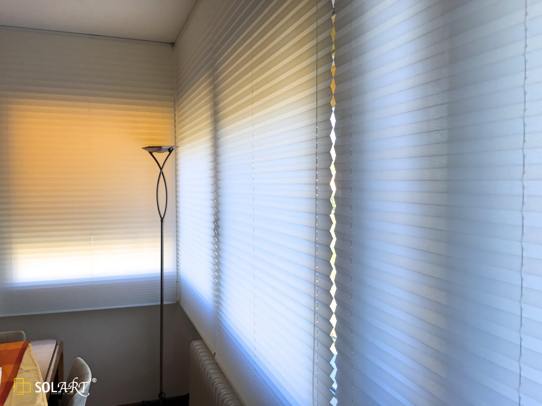 Cortinas plisadas solart 57 solart - Comprar cortinas barcelona ...