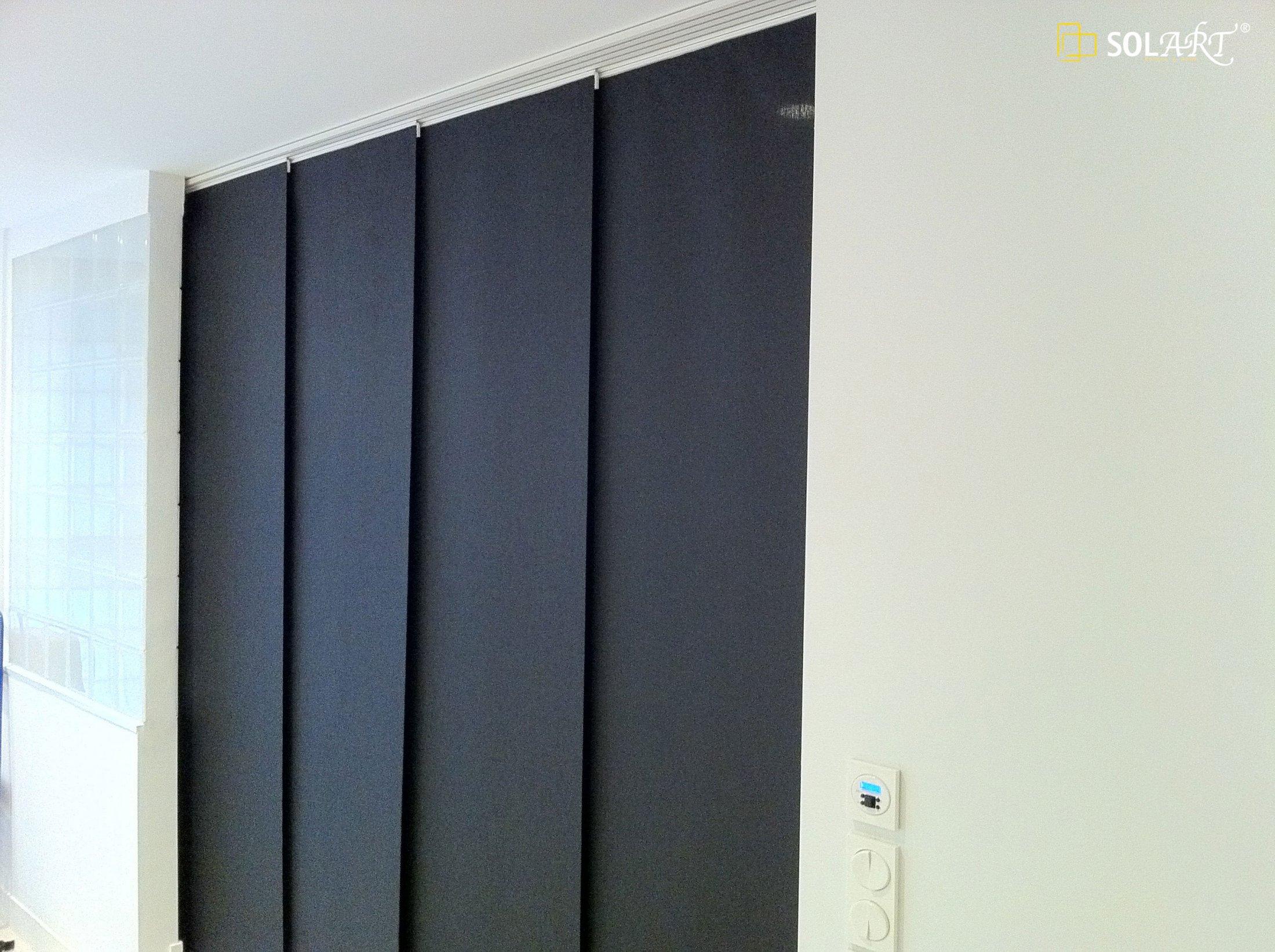 Japanese panel curtains - Panel Japones Solart 11